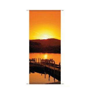 textilbanner-sunset
